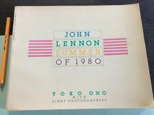 John Lennon Summer Of 1980 By Yoko Ono With Eight Photographers