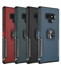 For Samsung  S9 S10E S10 Plus  Ring Buckle Bracket Shockproof Leather Case Cover