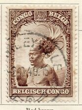 Belgian Congo 1932 Early Issue Fine Used 1.25F. 087852