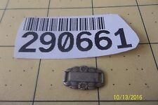 Sterling Silver - Antique Wwii Forget-Me-Not Bracelet Link 290661 Barry