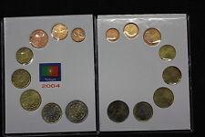 SERIE EURO COMPLETA PORTOGALLO ANNO 2004  - EURO SET COINS