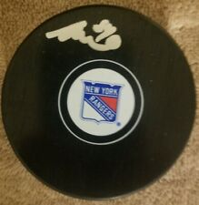 Blue Jackets/New York Rangers Adam Mcquaid Signed/Autographed Puck