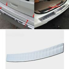Stainless Steel Outer Rear Bumper Protector Cover For Nissan Rogue 2014 -2017