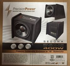 """Precision Power PPi SNBX-112 400 W 12"""" Amplified Ported Subwoofer Enclosure Box"""