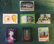 Cryptozoic Rick and Morty Season 2 114-Card MINI MASTER Set Base + 6 Insert Sets