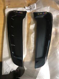 BMW X6 F16 Right Fender Side Grill Trim 51712354932 Genuine