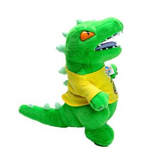 Rugrats Runaway Reptar Dinosaur Dreamworld Plush Soft Stuffed Toy 39cm 2008 New