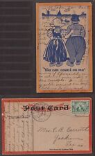 USA, 1907 postcard with humoristic illustration    -AX61