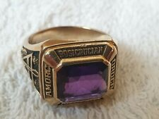 AMORC Past Master Ring 10K Solid Gold Ring - Rosicrucian, Rose Croix
