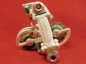 Patent-74 Campagnolo #1020/A Nuovo Record Rear Derailleur w/ Original Pulleys