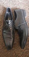 Zapatos de Cuero Prada para Hombre Talla 10 EU 44 Excelente Estado auténtico RRP £ 599