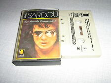 MICHEL SARDOU K7 AUDIO FRANCE LES LACS DU CONNEMARA