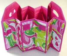 Fold Away Trunk Organizer Macbeth Collection Flowers Hot Pink Expandable New