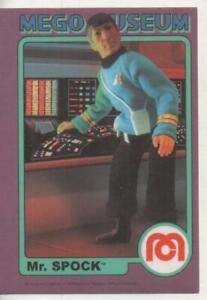 "Star Trek MEGO Museum Promo Trading Card No.40 ""Mr. Spock"""