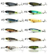 Whopper Plopper 90 style, 105mm 17g Topwater Popper Fishing Lure - Choose color