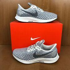 Nike Air Zoom Pegasus 35 Phantom Gray White Womens Multi-Size Running Shoes NEW