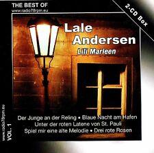 "Lale ANDERSEN ""Lili Marleen"" 2cd-box Nuovo & Scatola Originale Radio 78rpm pressing 40 tracks"