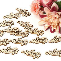 15pcs Wooden Letters Table Confetti Wedding Birthday Anniversary Party Decor