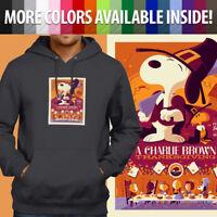 Charlie Brown Thanksgiving Peanuts Snoopy Pullover Sweatshirt Hoodie Sweater