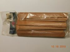 """Tandy Die Cut Leather Strips. 3/4"""" x 8"""""""