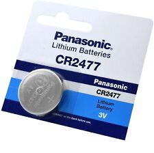 1 X PANASONIC CR2477  24 x 7,7mm Battery Lithium Nominal Voltage 3V DL2477