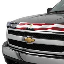 For Ford F-150 92-96 Stampede Vigilante Premium USA Flag w Eagle Hood Protector