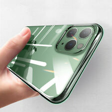 For iPhone 12 Pro Max 11 XS XR X 8 7 6s Crystal Plain Clear Silicone Case Cover