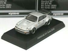 Kyosho 1/64 Porsche Collection 6 Porsche 911 Turbo 930 Silver