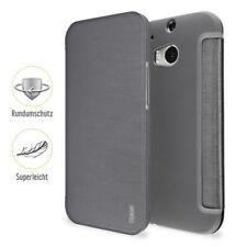 Artwizz SmartJacket Schutzclip Hülle Case Etui Cover HTC One M8 grau B-Ware