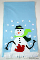 """Christmas Table Runner 17"""" x 118"""" inches Snowflake Snowman"""