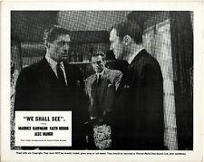 WE SHALL SEE 1964 Maurice Kaufmann, Faith Brook, Alec Mango 7 10x8 LOBBY CARDS