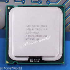 Intel Core 2 Duo E7600 3.06GHz/4M/1066 Dual Core LGA 775 CPU+ FREE Thermal Paste