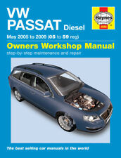 H4888 VW Passat Diesel (June 2005 to 2010) Haynes Repair Manual