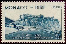 "MONACO STAMP TIMBRE N° 199 "" STADE LOUIS II ET ROCHER 2 F 25 ""  NEUF xx TTB"