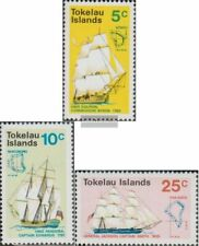 Tokelau 15-17 (complete issue) unmounted mint / never hinged 1970 Entdeckungsges