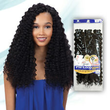 FREETRESS CROCHET BRAID 3X PRE-LOOP DEEP TWIST 16 INCH