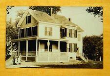 House on Garfield Street Ave? Medford Massachusetts MA Photo Postcard c1910 rppc