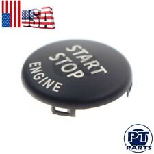 Black Start Stop Engine Button Switch Cover For BMW  E70 X6 E71 X1 E84 X3 E83 X5