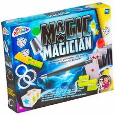 Coffret de 140 Tours de Magie Baguette Magicien - Carte Jouet Enfant Cadeau NOEL
