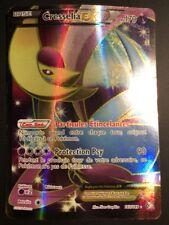 Carte Pokemon CRESSELIA 143/149 EX Full Art Noir et Blanc Française