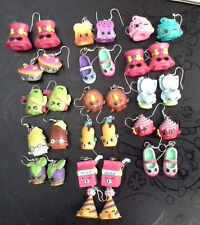Whimsical Shopkins Season 3 And 4 Fun Earrings, Marty Party Hat