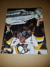 PENGUINS CARL HAGELIN SIGNED 8X10 PHOTO w/proof pic