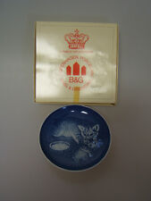 Lot of 5 Bing & Grondahl Mothers Day Collector Plates 1971, 3, 4, 5, 6 boxes hbg