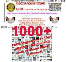 1000+ TURNKEY WEBSITES RESELL RIGHTS EBAY BUSINESS - CD/DVD