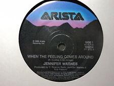 "Jennifer Warnes ""When The Feeling Comes Around"" Oz 7"""