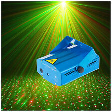 Mini RGB Laser LED Stage Lights Music Show DJ Lighting Projector For Party Pub