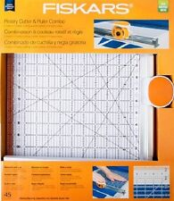 "Fiskars Rotary Cutter Ruler Combo 45MM (12"" x 12"") 195140"