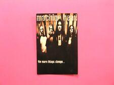 MACHINE HEAD OFFICIAL1997 VINTAGE POSTCARD NOT SHIRT PATCH LP CD POSTER UK MADE