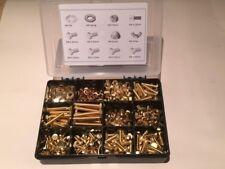 M6 Ottone Dadi E Bulloni viti rondelle assortite Kit contiene 610 PZ