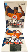 Tiger woods PGA Tour 09 All Play W Manual Nintendo Wii Game